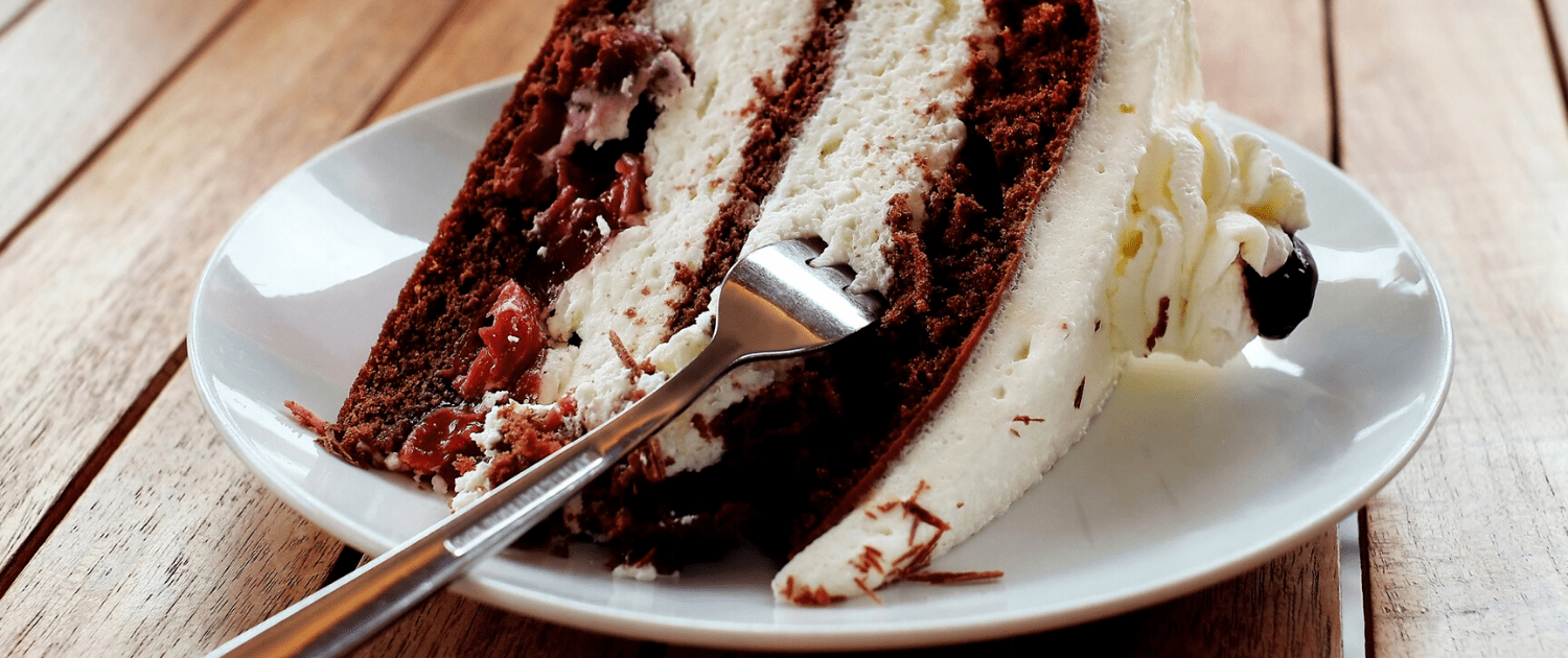 Research shows unpractical and strict diets don't work. Having cake, cake being a metaphor, can increase diet adherence and lead to long-term weight l